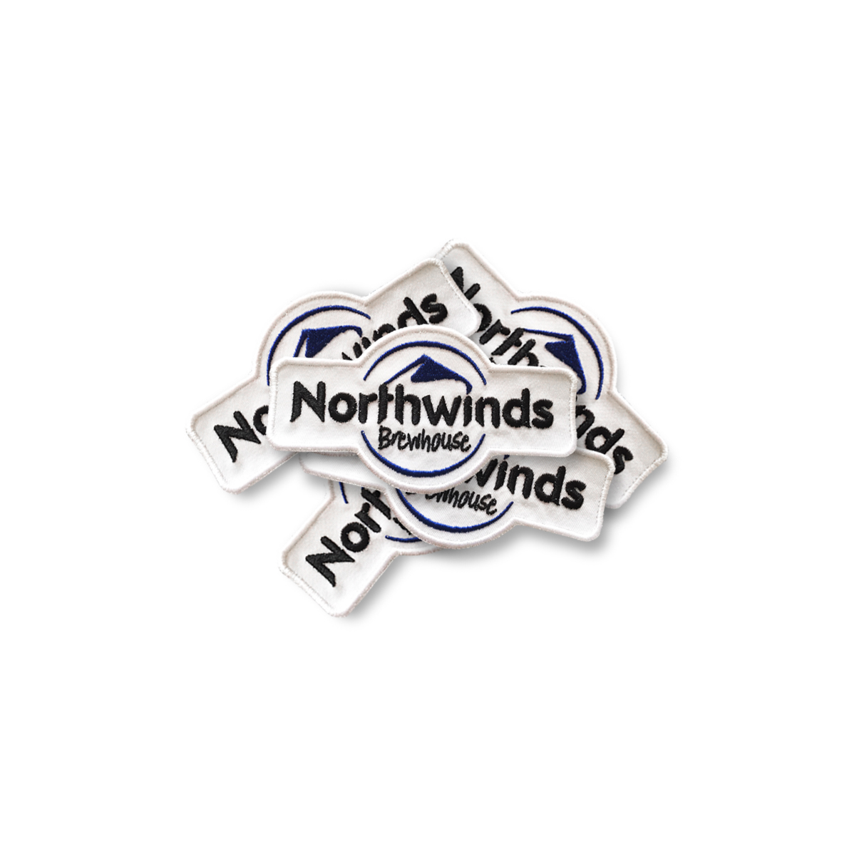 "4.5"" Embroidered Northwinds Patch"